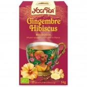 YOGI TEA GINGEMBRE HIBISCUS...
